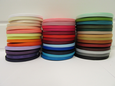 6mm Grosgrain Ribbon 2 metres or 20 metre roll double sided Ribbed UK